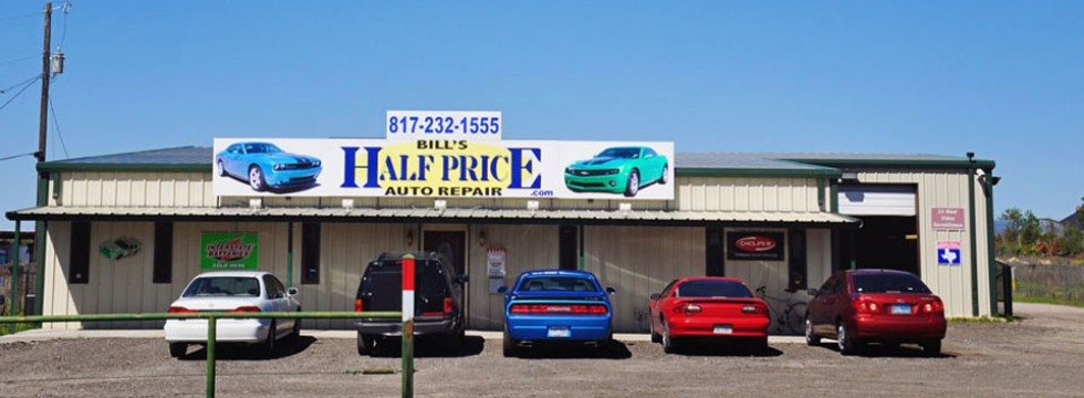 Bill 39 s half price auto repair serving fort worth texas for Electric motor repair fort worth